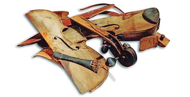 Violín de Clarence 'Gatemouth' Brown en el U.S. and Mint Museum_Andrea Torres Armas