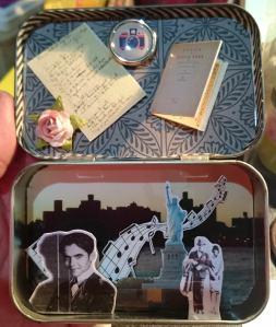 Diorama bolsillo Poeta en Nueva York Federico García Lorca